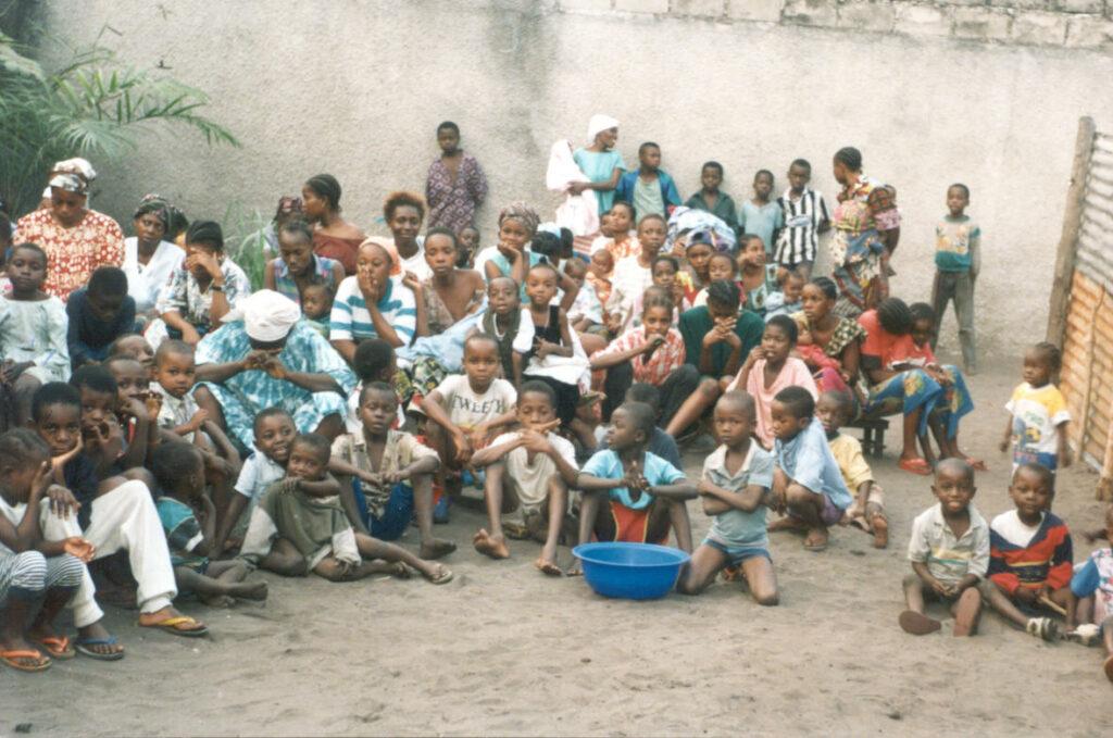 African Refugee children