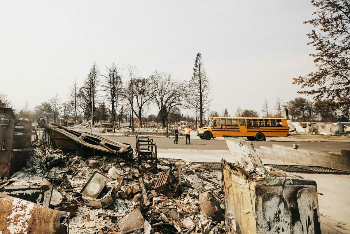 Wildfires: Bus Driver Lee and a Church's Compassion